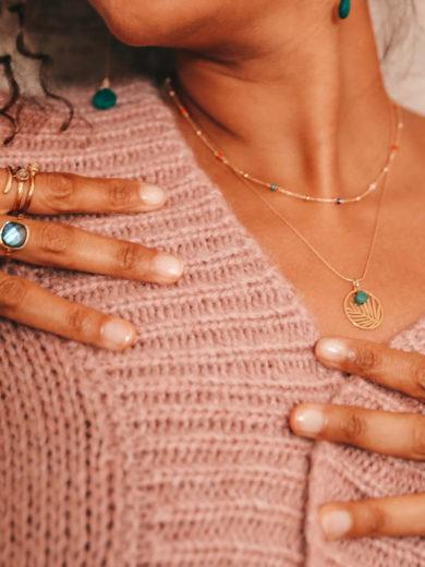 bijoux delfea bague et collier